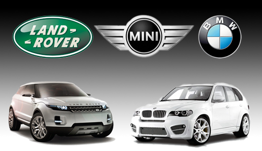 BMW - Land Rover - Mini Cooper